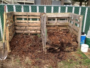 how to build a compost bin wood